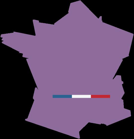 Service disponible partout en France
